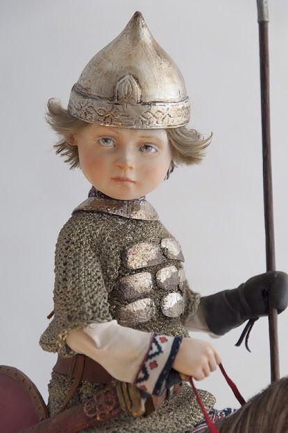 kukusyapa куклы Катерины Тарасовой - Илюша