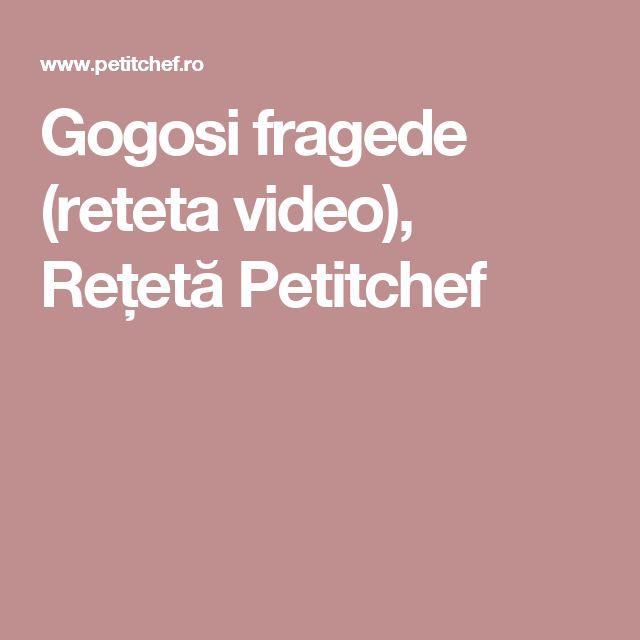 Gogosi fragede (reteta video), Rețetă Petitchef