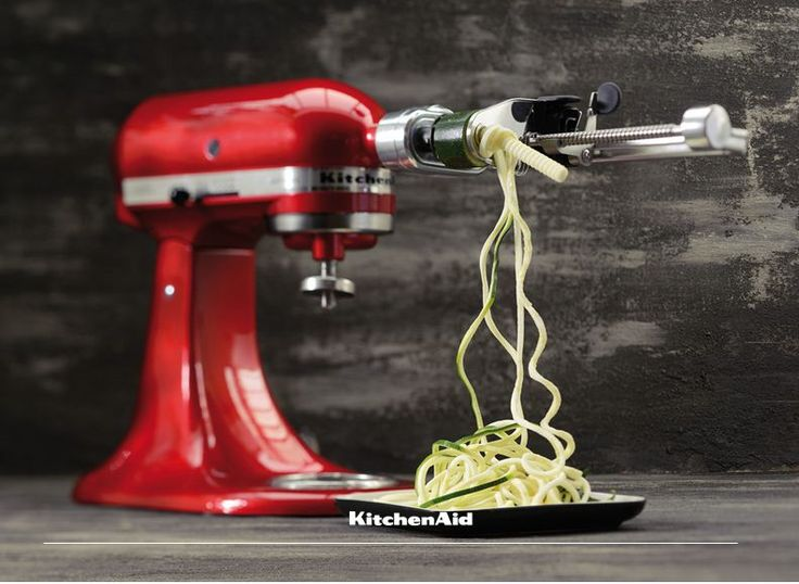 Our Stand Mixer Spiralizer Attachment is one of a kind! With the ability to core and peel and make the most beautiful salads and even vegetable pastas, we don't see a reason why this attachment shouldn't be on your wish list! Much love KitchenAid Africa xx
