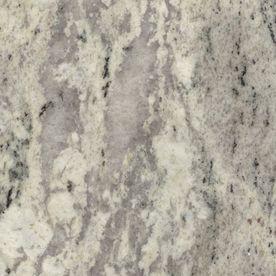 SenSa�2-in W x 3-in L Silver Silk Granite Countertop Sample