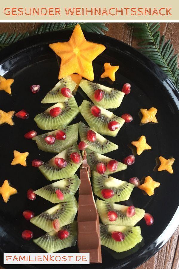 Tannenbaum aus Kiwi – Babybrei-selber-m… – Vroni Stöcklein