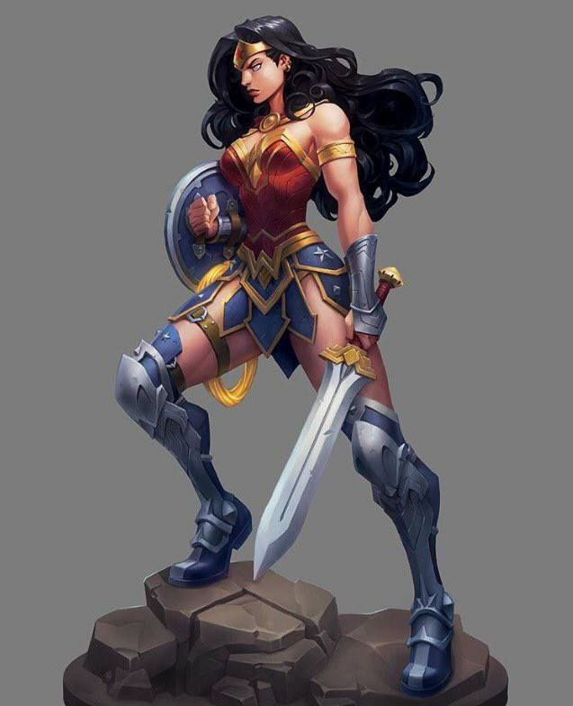 Wonder Woman by Joe Madureira and Grace Liu