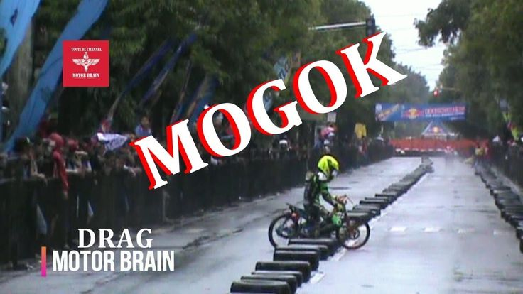 APES ! HUJAN Motor Balap MOGOK Pembalap NGELU | VIDEO DRAG BIKE