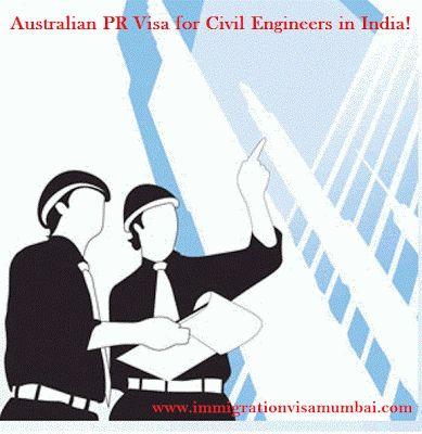 Immigration Visa Consultancy Services from Mumbai : Australian PR Visa for Civil Engineers in India