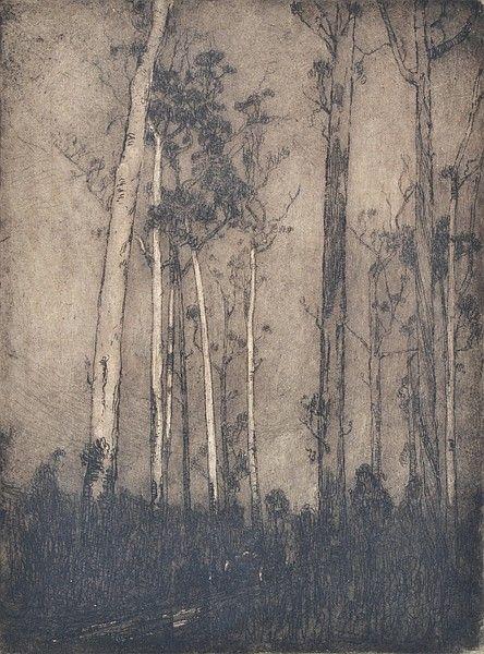 The Bush Track, 1912, Jessie Traill