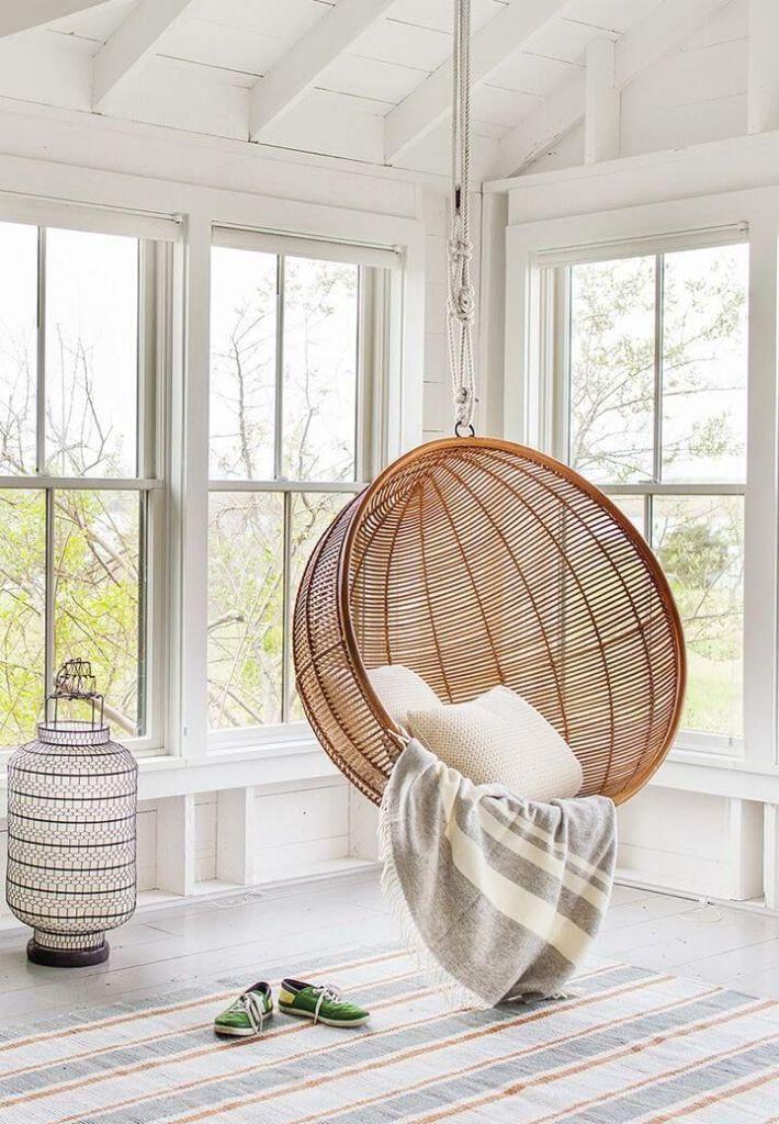 Die besten 25+ Swing chair indoor Ideen auf Pinterest - designer hangematte metall gestell
