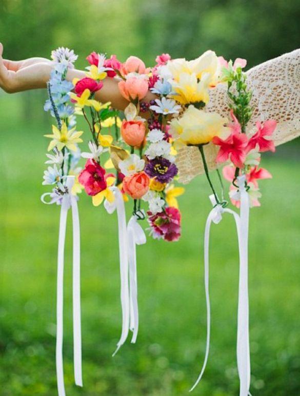 VIDA Statement Bag - Spring Fling Bouquet by VIDA jIIXDLO