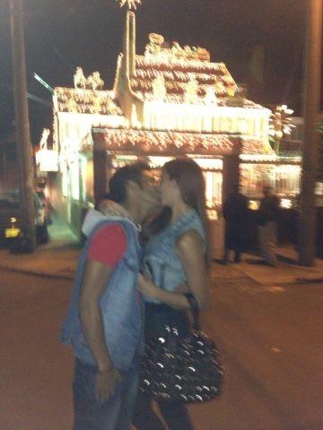 Nuestra hermosa @nanisochoa con su amor @pipecalderon