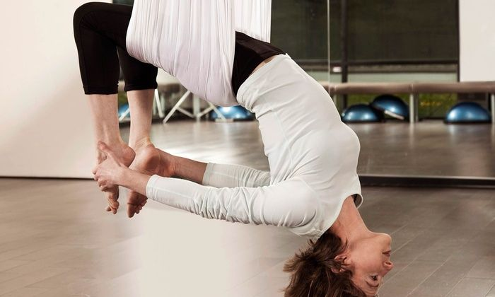 Kinetics Personal Training & Group Fitness - Highland Park: Aerial Fitness Classes at Kinetics Personal Training & Group Fitness (Up to 67% Off). Two Options Available.