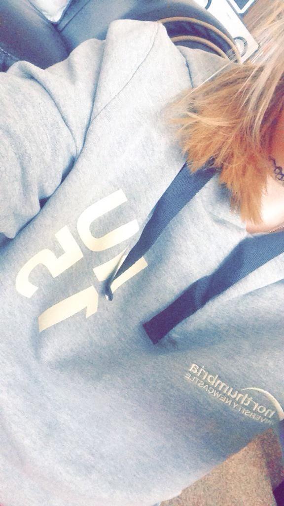 @laurabethmitch1 via Twitter | Northumbria University | #IWANTNU | Hoodie