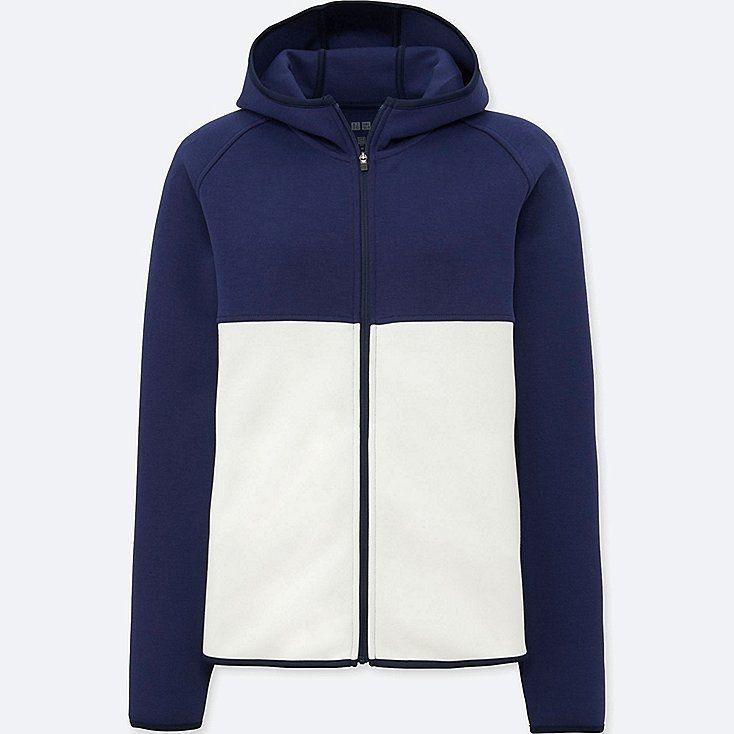 78aec89edf Women dry sweat long-sleeve full-zip hoodie