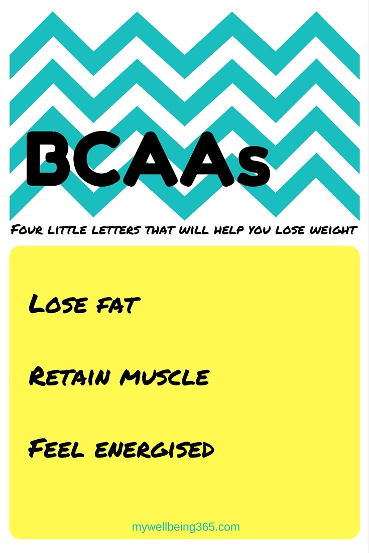 Do you know about this weight loss secret? The benefits of BCAAs Lose weight now and keep it off. Look after your body.