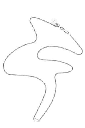 Shop for Karen Walker Jewellery for Women | Mini Heart Necklace in Silver | Incu