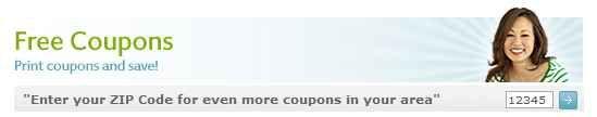 How to Change Your Zip Code in Coupons.com | 2013 Update