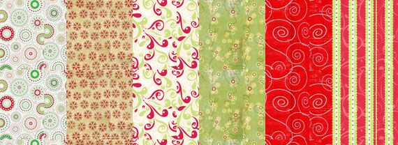 Texturas de navidad – 18 Packs gratuitos – Puerto Pixel | Recursos de Diseño