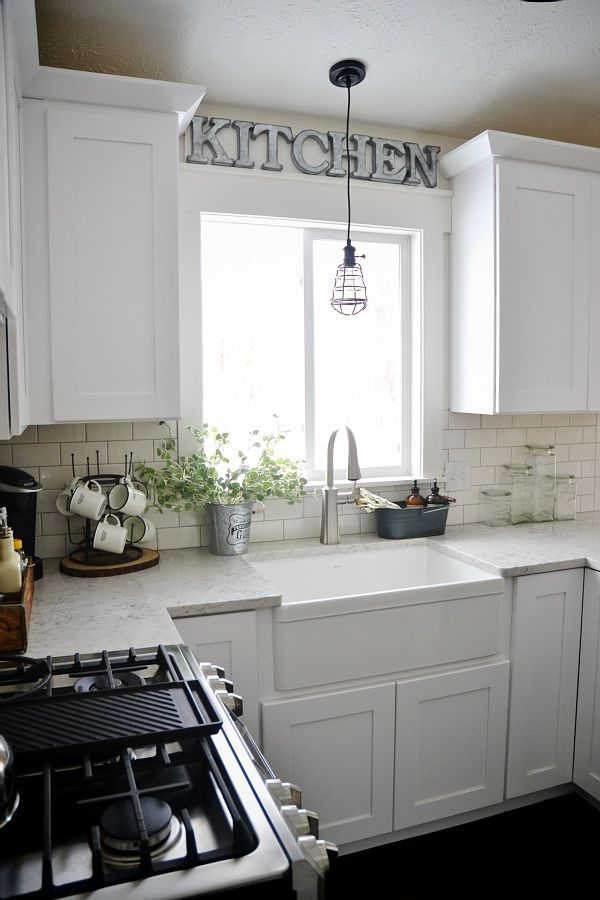 DIY Metal Letter Industrial Kitchen Sign - : Industrial farmhouse, Industrial and Metal letters
