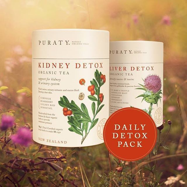 Feeling a little sluggish after the Christmas excesses? It's so easy for our body to accumulate toxins from processed food, alcohol, prescription and recreational drugs, cosmetics and pollution. Those poor kidneys and liver need a Puraty detox!
