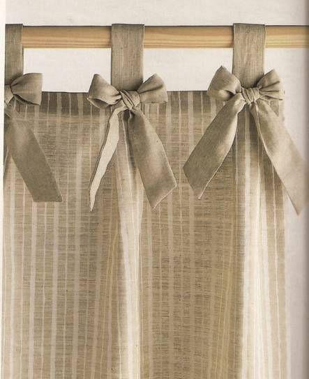 Las 25 mejores ideas sobre cortinas de cocina en for Cortinas visillo modernas