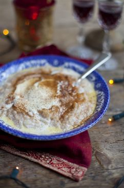 Swedish Christmas Rice Pudding    It's almost that time of the year, I can not wait to make!!!!!!
