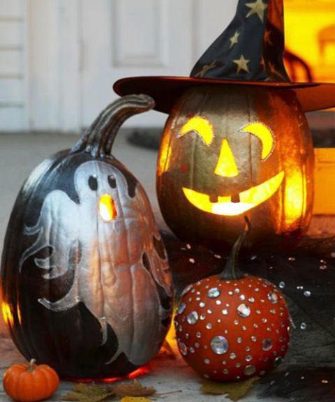 60 enchanting halloween decorating ideas - Creative Halloween Pumpkin Carving Ideas