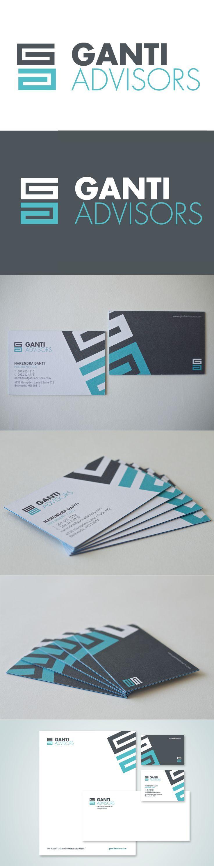 Ganti Advisors Corporate Identity by Marstudio © www.marstudio.com - Financial Logo - Corporate Collateral - Print Collateral: