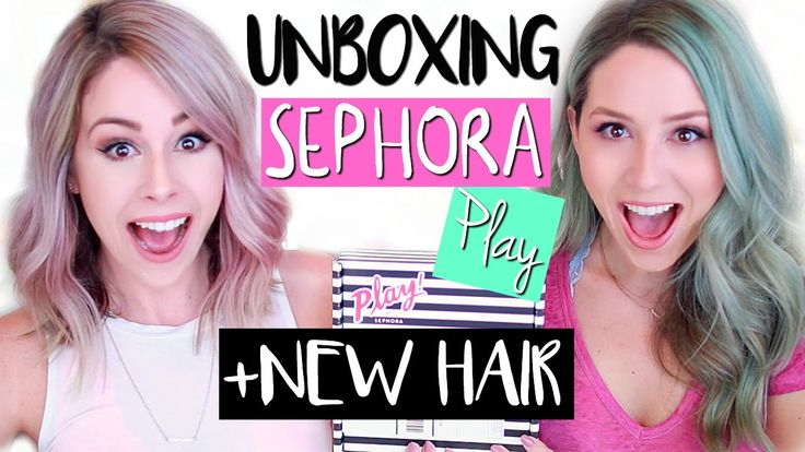 UNBOXING Sephora PLAY! MAY 2016 | NEW HAIR!!!