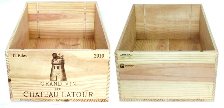 2010 Chateau Latour Wooden Wine Crate for Sale on eBay!