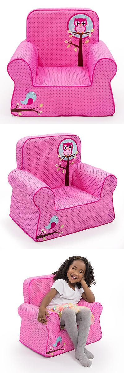 Bedroom Furniture 66742: Marshmallow Comfy Chair - Pink Owl -> BUY IT NOW ONLY: $34.99 on eBay!