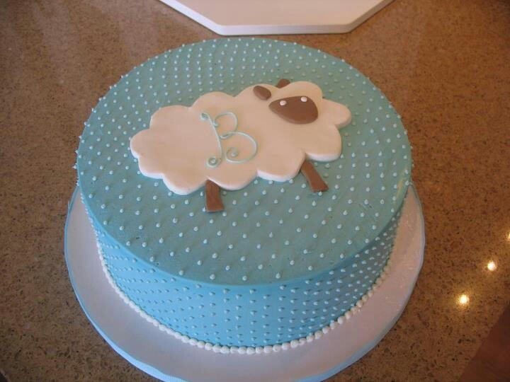 Lamb cake - love the simplicity