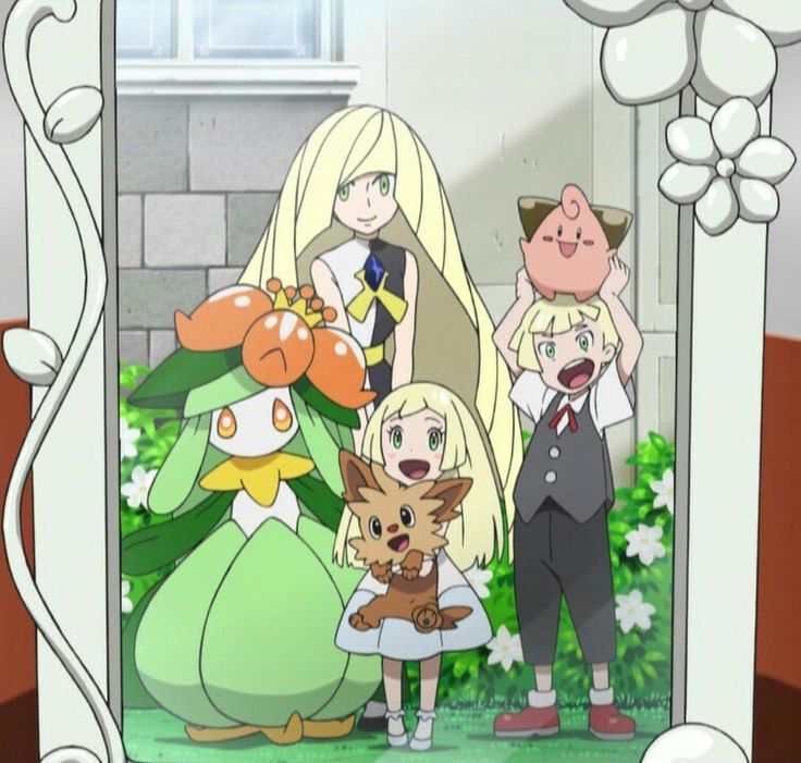Look how happy they are Including Lusamine This is when Mohn was still with them  How's that for a headcanon