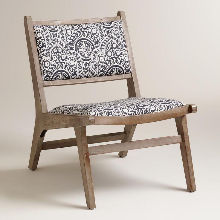 Moroccan And Stripe Print Tovin Chair