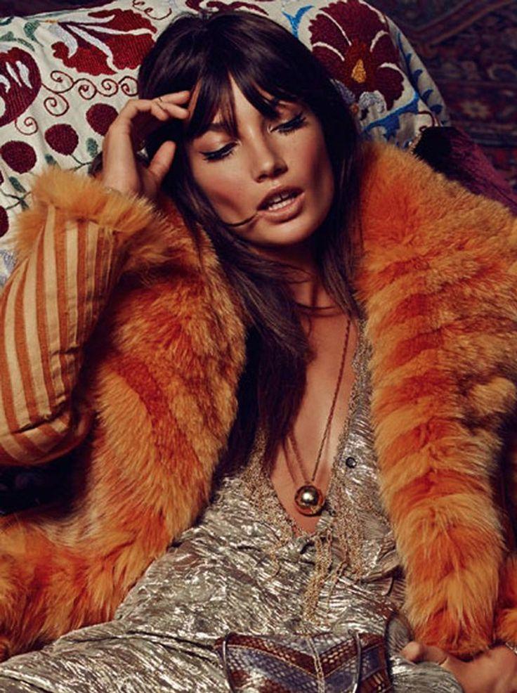 Lily Aldridge by David Roemer for S Moda November 2014 _