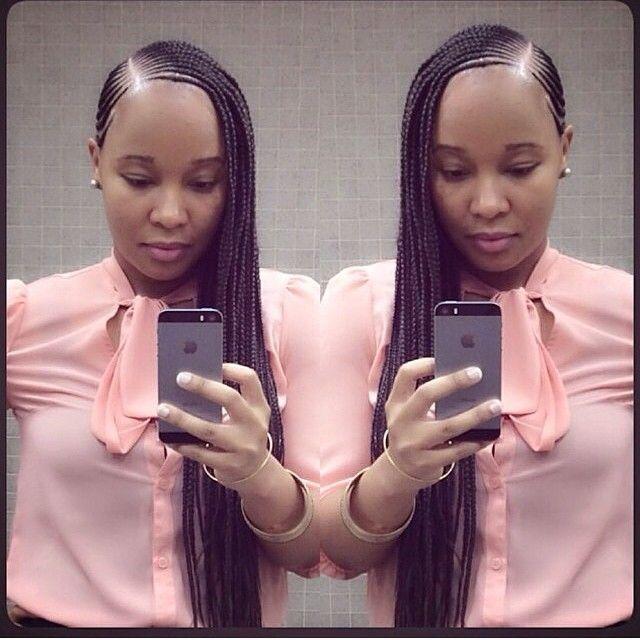 Beautiful Braids - http://www.blackhairinformation.com/community/hairstyle-gallery/braids-twists/beautiful-braids-3/ #braids #CornrowsBeyonce