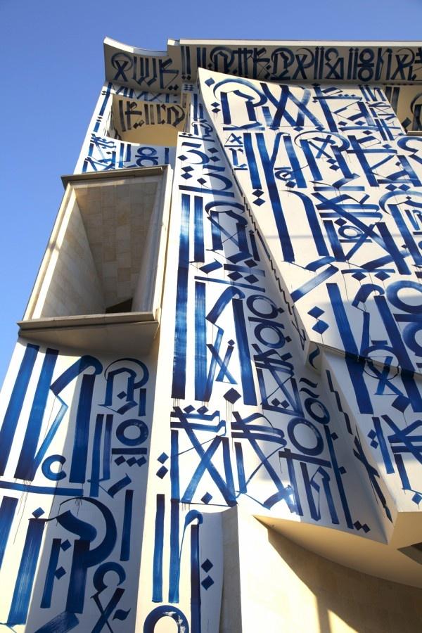 RETNA paints Pasadena Museum of California Art. via @bantjes