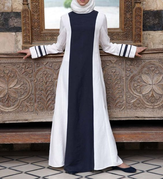 good loking frock style abaya designs (10)