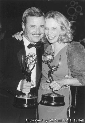 William Daniels and Bonnie Bartlett.