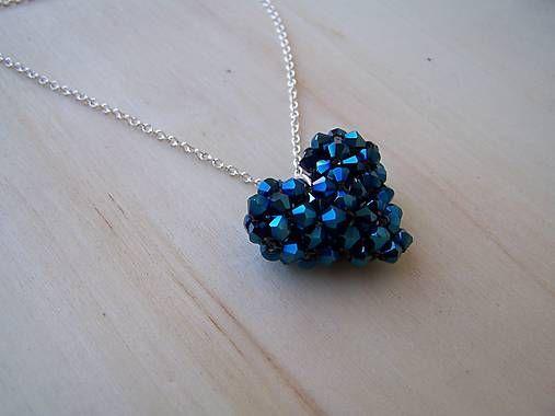 byZuzana / srdiečko - kráľovská modrá