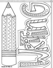 language arts coloring pages and printables