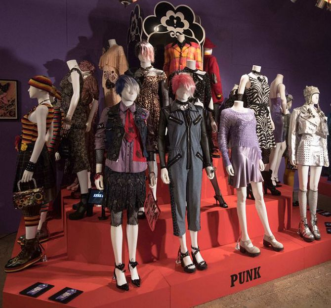 The World of Anna Sui at London's Fashion and Textile Museum -If you can't make it all the way to the Fashion and Textile Museum in London, you can come check out our Anna Sui Tribute to the San Francisco Summer of Love on the third floor of our brick-and-mortar store!