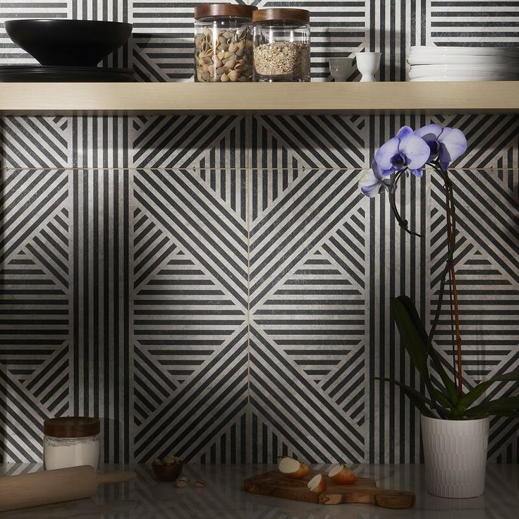 Bowery 24 Quot X 24 Quot Porcelain Patterned Wall Amp Floor Tile In