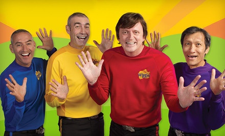 DETROIT, MI - The Wiggles – The Palace of Auburn Hills  The Wiggles Concert on Friday, August 10, at 2:30 p.m. or 6:30 p.m. (Up to Half Off). Two Seating Options Available