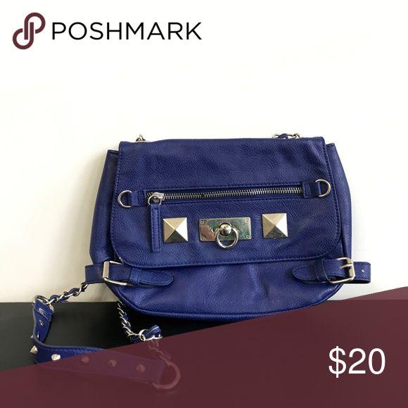 Blue purse Blue purse by Deena & Ozzy Deena & Ozzy Bags Shoulder Bags