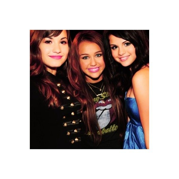taylor's icon ; { demi lovato, miley cyrus & selena gomez } ❤ liked on Polyvore featuring miley cyrus, selena gomez, demi lovato, selena and demi
