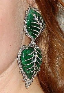 Lorraine Schwartz earrings, her work is incredible!