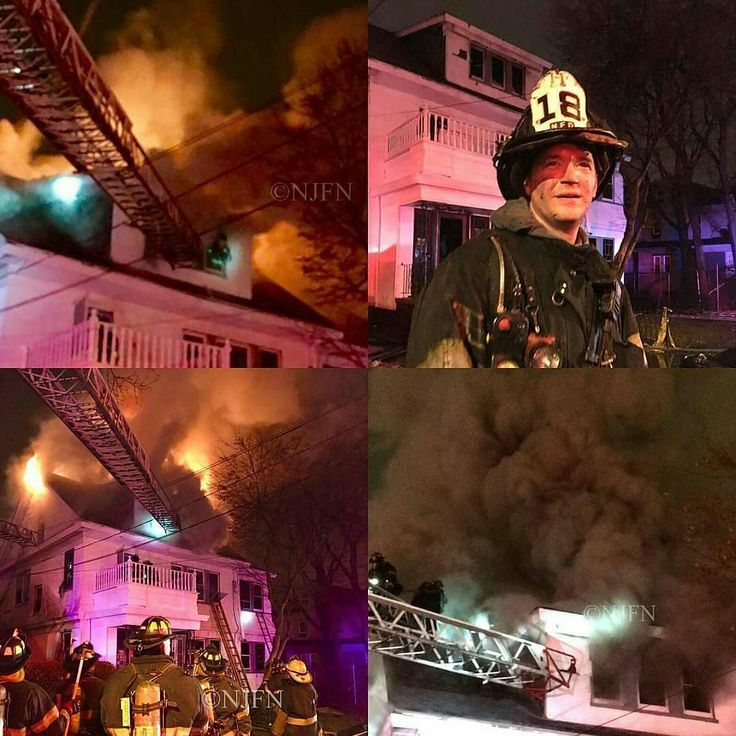 """FEATURED POST   @newark_fire_department_nj -  Some photos from last nights fire. Photos and narrative from Rob Munson.  Newark Firefighters """"Old School"""" Firefighting this morning at 394 Clinton Place. The Signal 11 Fire plus a special call for an additional Signal 9 sent Newark's Bravest to work in a hot Smokey job in a large 2.5 story wood frame. After the box went out Dispatch advised that PD was reporting """"a good Fire"""" at the location. On arrival of Engine 29 heavy fire was showing from…"""