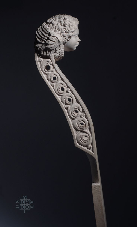 Head sculpture created by Mariusz Dydo for luthier- Matthew Farley. Jun 2017.