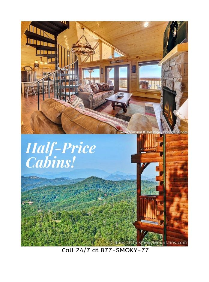 Spring Cabin Specials Through May 17 Buy 2 Get 2 Free For Sun Thurs Nights That S Half Price On 4 Nights Gatlinburg Cabin Rentals Cabin Gatlinburg Cabins