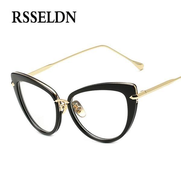 Rsseldn 2017 Fashion New Women Eyeglasses Frames Classic Brand