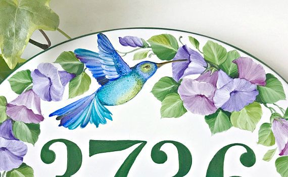 A way to beautify your entry, is adding an attarctive house number!