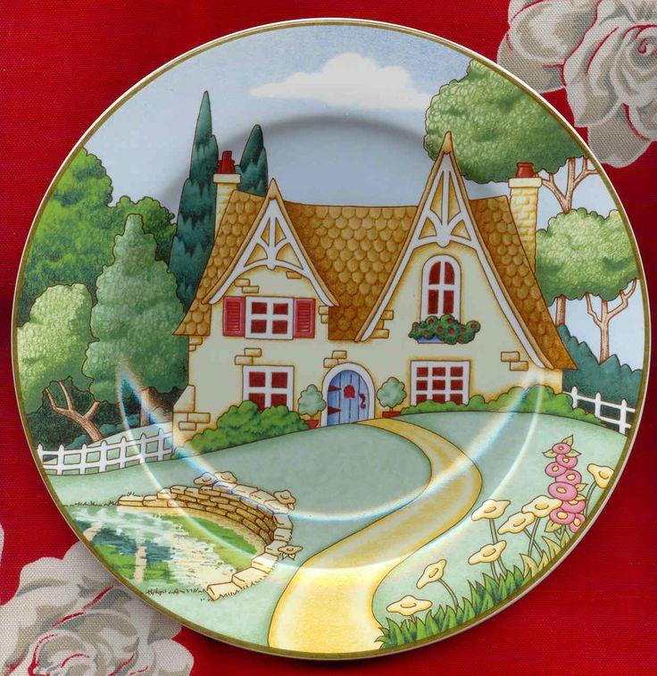 Mary Engelbreit plate